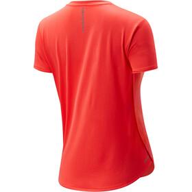New Balance Accelerate SS Shirt Women, vivid coral